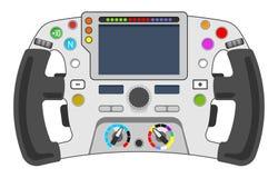 Steering wheel F1 Royalty Free Stock Image
