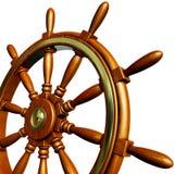 Steering wheel. High resolution 3D rendering of an steering wheel Stock Images