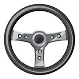 Steering wheel icon, isometric 3d style. Steering wheel icon. Isometric 3d illustration of steering wheel vector icon for web Royalty Free Stock Photography