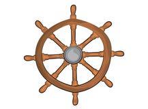 Steering wheel illustration Stock Photography
