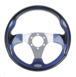 Steering wheel isolated Royalty Free Stock Photography