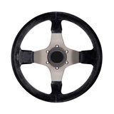 Steering wheel isolated Royalty Free Stock Photo