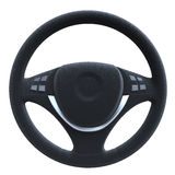 Steering Wheel Isolated on White Background Stock Photography