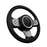 Steering Wheel Isolated Stock Image