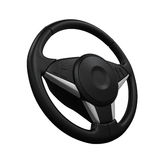 Steering Wheel Isolated Stock Photography