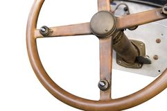 Steering wheel isolation 3rd Stock Photography