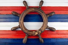 Steering wheel. Royalty Free Stock Photo