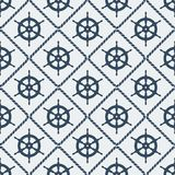 Steering wheel seamless pattern Stock Photos