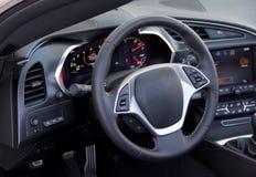 Steering wheel royalty free stock photo