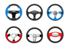 Steering wheels Royalty Free Stock Image