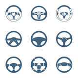 Steering wheels shapes Stock Photos