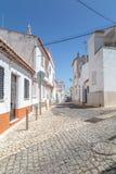 Steet视图拉各斯,阿尔加威,葡萄牙 库存照片