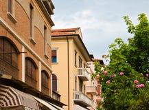 Steet dans Lido, Venise photographie stock