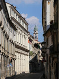 Steet in the historic center of the Italian city Stock Photo