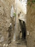 On steet of Jerusalem, city Royalty Free Stock Image