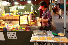 Steet vendor in Korea Stock Photography