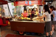 Steet vendor in Korea Stock Photos