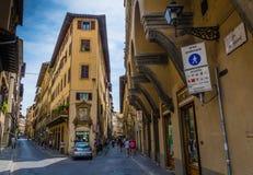 Steets de Florencia foto de archivo