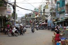 Steets van Ho-Chi-Minh-Stad Stock Foto's