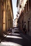 Steetsen av Florence Royaltyfria Foton