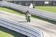Stefan Bradl of Honda LCR Team racing Royalty Free Stock Images