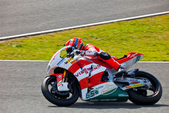 Stefan Bradl pilot of Moto2 in the MotoGP Royalty Free Stock Images
