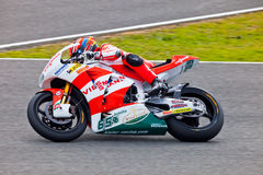 Stefan Bradl pilot of Moto2 in the MotoGP Royalty Free Stock Photography