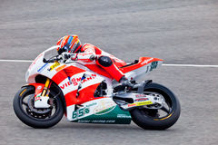 Stefan Bradl pilot of Moto2 in the MotoGP Stock Image