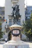 Stefan cel Mare statue Stock Image