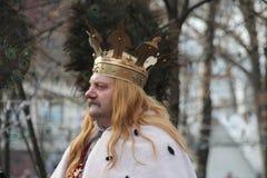 Stefan cel sto Royaltyfria Bilder
