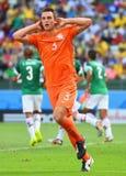 Stefan de Vrij Coupe du monde 2014 Royalty Free Stock Photos