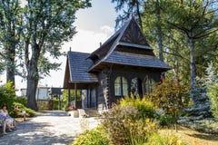 Stefan Zeromski museum in Naleczow in Poland Royalty Free Stock Photo