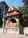 Stefan Zeromski orphanage, Naleczow, Poland Royalty Free Stock Images