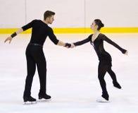 Stefania Berton and  Ondrej Hotarek Stock Image