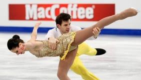 Stefania BERTON / Ondrej HOTAREK (ITA) Royalty Free Stock Images