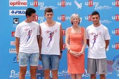 Stefania Giannini al Giffoni Ekranowy festiwal 2016 Zdjęcie Stock