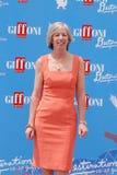 Stefania Giannini al Giffoni Film Festival 2016 Royalty Free Stock Photo