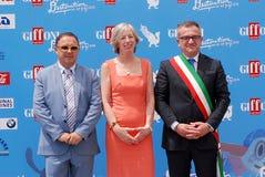 Stefania Giannini al Giffoni Film Festival 2016 Stock Photos