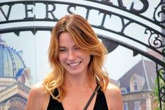 Stefania Rocca al Giffoni Film Festival 2013 Stock Photos