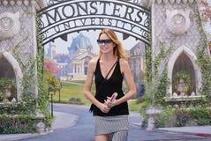 Stefania Rocca al Giffoni Film Festival 2013 Royalty Free Stock Image