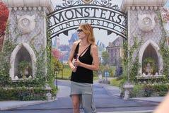 Stefania Rocca al Giffoni Film Festival 2013 Royalty Free Stock Photo