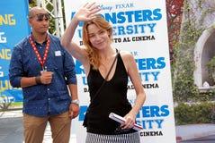 Stefania Rocca al Giffoni Film Festival 2013 Stock Image