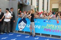 Stefania Rocca al Giffoni Film Festival 2013 Royalty Free Stock Photos