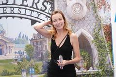 Stefania Rocca al Giffoni Film Festival 2013 Stock Photo