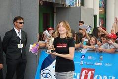 Stefania Rocca al Giffoni Film Festival 2013 Stock Images