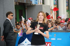 Stefania Rocca al Giffoni Film Festival 2013 Stock Photography