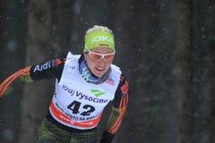 Stefanie Boehler - Cross Country-Skifahren Lizenzfreie Stockbilder