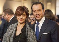 Stefano Accorsi och Laura Morante Royaltyfri Foto