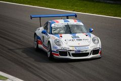Stefano Colombo, Porsche Carrera Cup 2015 at Monza Stock Image