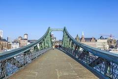 Steg de Eiserner e cano principal de rio Foto de Stock Royalty Free
